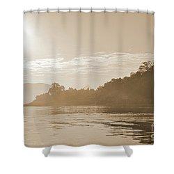 Misty Morning 2 Shower Curtain