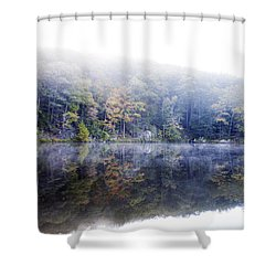 Misty Morning At John Burroughs #2 Shower Curtain