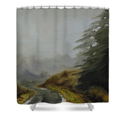 Misty Morning, Benevenagh Shower Curtain