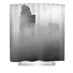Misty Morning Flight Shower Curtain