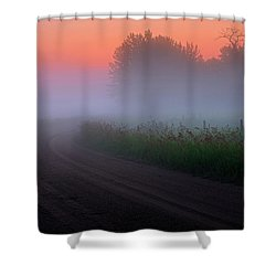 Misty Mornings Shower Curtain