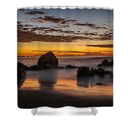 Misty Seascape Shower Curtain