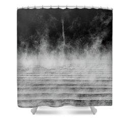 Misty Twister Shower Curtain