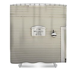Mitchell-amee House Shower Curtain