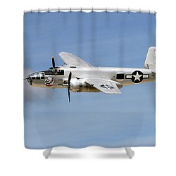 Mitchell In The Sky Shower Curtain