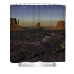 Mittens Morning Greeting Shower Curtain