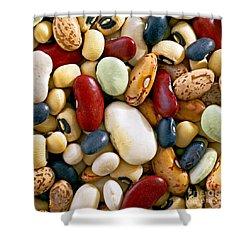Mixed Beans Shower Curtain by Craig B