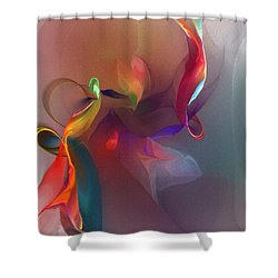 Mixed Emotions Shower Curtain by David Lane