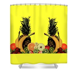 Shower Curtain featuring the photograph Mixed Fruits by Shane Bechler
