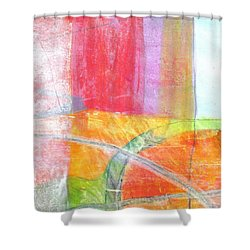 Mixed Media1 Shower Curtain