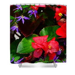 Shower Curtain featuring the photograph Mixed Salad by Jesse Ciazza