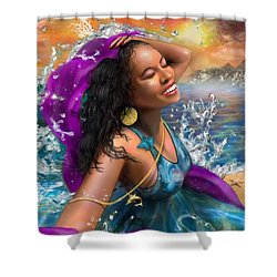 Mizu Shower Curtain