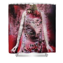 Mizz Oni Shower Curtain
