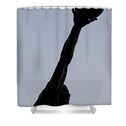 Mj II Shower Curtain by Andrei Shliakhau