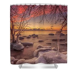 Mke Freeze Shower Curtain