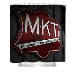 Mkt Railroad Lines Shower Curtain