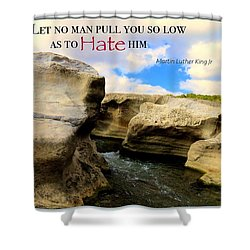 Shower Curtain featuring the photograph Mlk 1 by David Norman