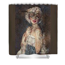 Mm Venice  Shower Curtain