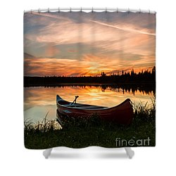 Mn Sunset 4 Shower Curtain