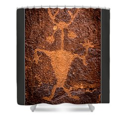 Moab Man Poster Shower Curtain by Gary Whitton
