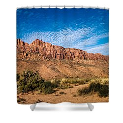 Moab Rim Shower Curtain