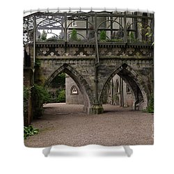 Moat At Inveraray Castle In Argyll Shower Curtain