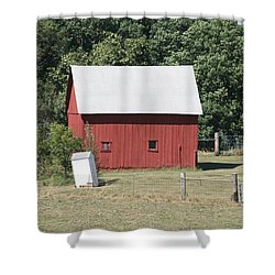 Moberly Farm Shower Curtain