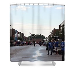 Moberly Homecoming Shower Curtain