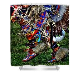 Mocassins In Dance Shower Curtain