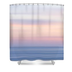 M'ocean 14 Shower Curtain by Peter Tellone