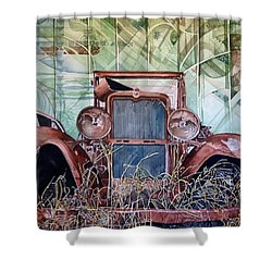 Model A Shower Curtain by Lance Wurst