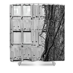 Modern And Nature Shower Curtain
