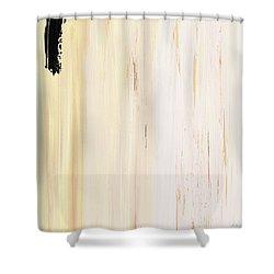 Modern Art - The Power Of One Panel 3 - Sharon Cummings Shower Curtain by Sharon Cummings
