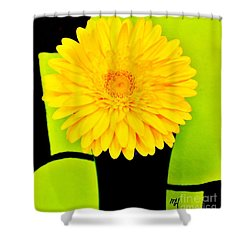 Modern Gerber Shower Curtain