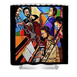 Modern Jazz Quintet Side B Shower Curtain