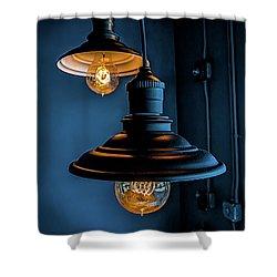 Modern Lighting Shower Curtain
