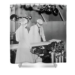 Shower Curtain featuring the photograph Modern Surgery by Daniel Hagerman