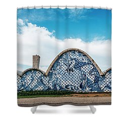 Modernist Church Of Sao Francisco De Assis In Belo Horizonte, Brazil Shower Curtain