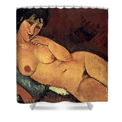 Modigliani: Nude, 1917 Shower Curtain by Granger