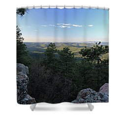 Mogollon Morning Shower Curtain