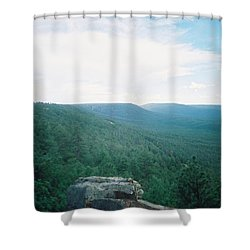 Mogollon Rim - Arizona Shower Curtain