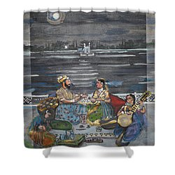 Mogul Moonlight Shower Curtain
