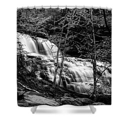 Mohawk Falls - 8617 Shower Curtain by G L Sarti