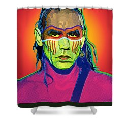 Mohawk Shower Curtain by Gary Grayson