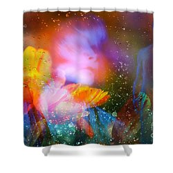 Moist Dream Vision  Shower Curtain
