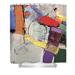 Shower Curtain featuring the painting Mojo Rizen Via La Woman by Cliff Spohn