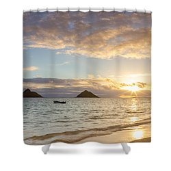 Mokulua Morning Shower Curtain