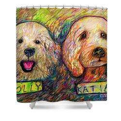 Molly And Katie Shower Curtain