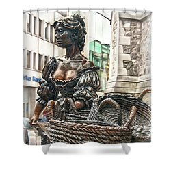 Shower Curtain featuring the photograph Molly Malone by Hanny Heim