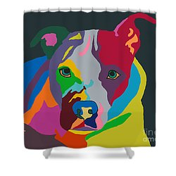 Molly Psychedelic Shower Curtain